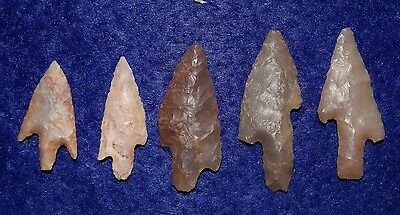 5 qood Sahara Neolithic stemmed form with drooped barb