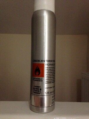 London 2012 Olympic Torch gas canister (genuine) UNUSED