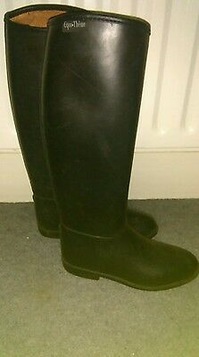 Equi.Theme Universal Childs Childrens Tall Boots Horse Riding Boots Size 3 (36)