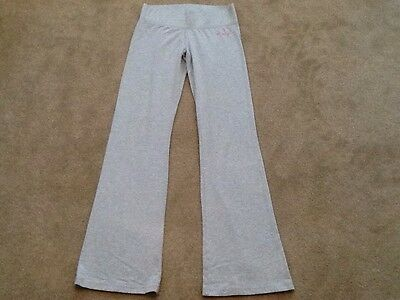 "Ladies Pineapple Dance Fitness Trousers Grey Size Small Medium 26"" Waist 32"" Leg"