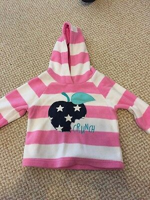 Baby Girls Hooded Jumper From Next 6-9 Months