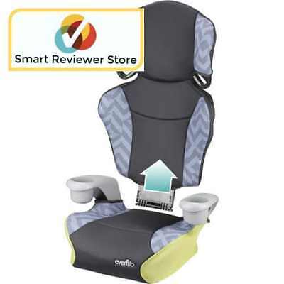 High Back Booster Car Seat Safe Child By Evenflo Big Kid Sport Goody Two Tones