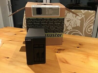 Asustor AS302-T NAS with 1TB HDD