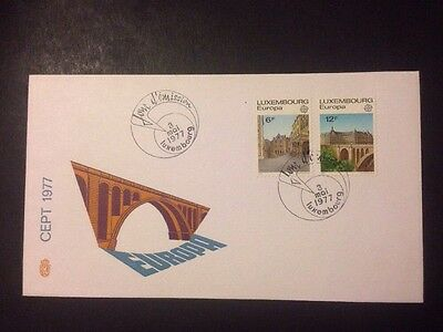 Luxembourg - 1977 Europa FDC (a016)