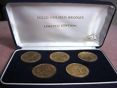 Limited Edition Olympic Coin Set Winter Olympics Calgary