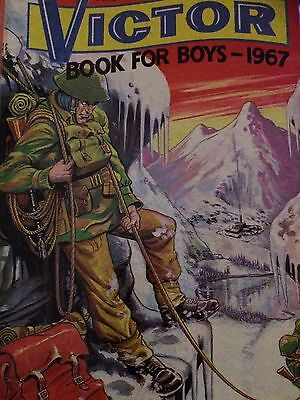 The Victor Book for Boys 1967 VERY FINE Condition