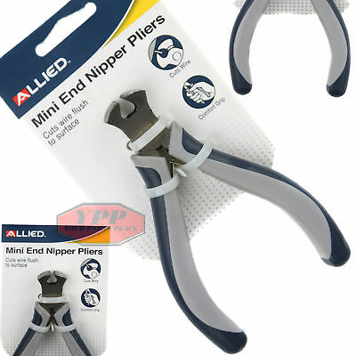 """Mini End Cutting Pliers Nippers 5"""" Electrical Wire Cutter Jewelry Tool Allied"""