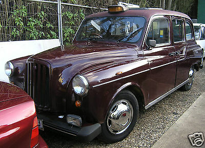 CARBODIES FX4 Fairway Driver Plus London Taxi in Maroon MOT'd  P/Ex Offers WHY