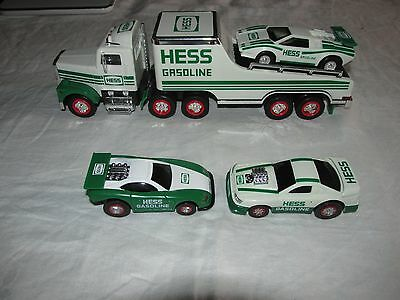 1991 Hess Truck with Car and 2 Cars from 1997