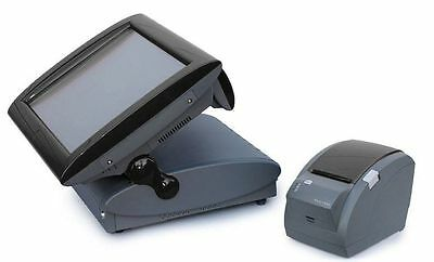 Aures Posligne Odysse Epos System with Fidelity Gpos Software Till Touch Screen