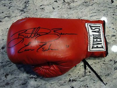 Butterbean Signed Laced Everlast Boxing Glove W/coa