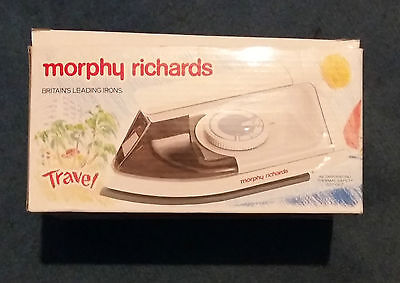 Morphy Richards Travel Iron Steam Model 41410 ( dual voltage) with instructions