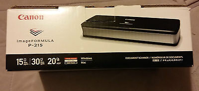 Brand New Canon imageFORMULA P-215 Portable Document Scanner A4