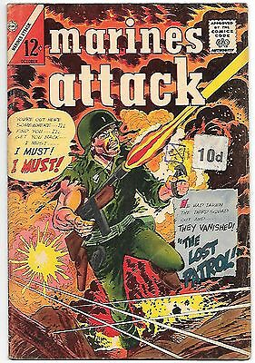 Marines Attack #7 (Charlton 1965) fn+ 6.5