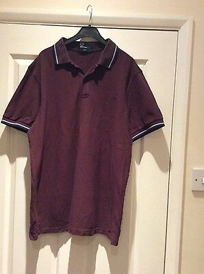 Fred Perry Polo Shirt - Size L