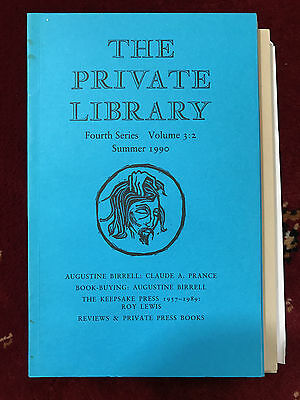 The Private Library 4th Series Vol.3:2 1990