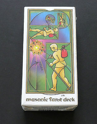 VTG Masonic Maconnique Tarot Cards Deck by Jean Beauchard 1987 SEALED!