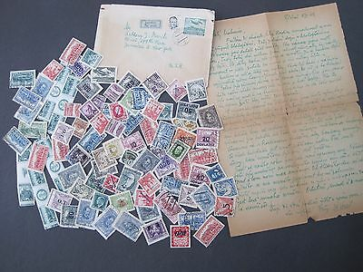 Czechoslovakia with many overprints Early Era on 75+ 1940's cover/letter M/Used