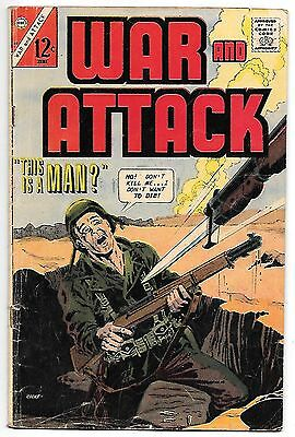 War and Attack #60 (Charlton 1967) fine 6.0
