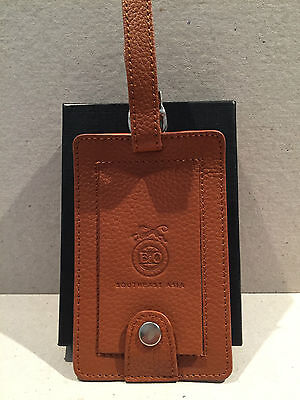 Eastern & Oriental Express Train Leather Style Luggage Tag Eo Belmond In Box