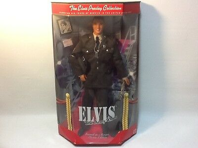 """The Elvis Presley Collection """"The Army Years"""" Classic Edition Doll Mattel"""
