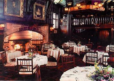 Mitton Hall Country House Hotel - Whalley - Lancashire - Restaurant - postcard