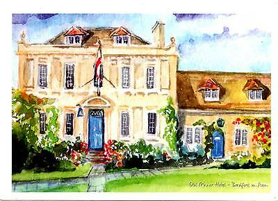 Old Manor Hotel - Trowle Common - Nr Bardford on Avon - Wiltshire - Postcard