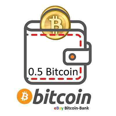 0.5 BITCOIN Crypto currency Guaranteed Deliver Direct to Your Wallet! BTC