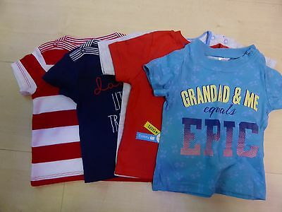 5 x baby t-shirts, size 6-9 months
