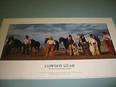 Cowboy gear by David R Stoecklein The Boys From Medecine Lodge Cowboys and Gear