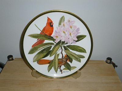 FRANKLIN PORCELAIN Wedgwood SONGBIRDS OF THE WORLD collection CARDINAL 1977