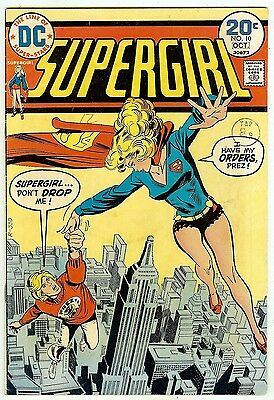 Supergirl #10 (1974; vf- 7.5) price guide value: $23.50 (£15) in this grade