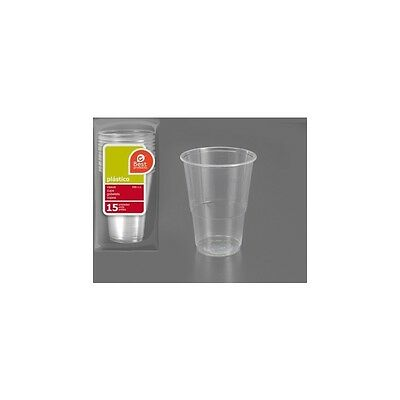 H) Vaso Plástico Irrompible 330Cc., Best Products, 15Uds.