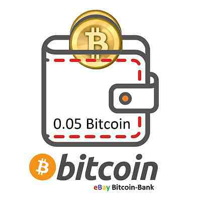 0.05 BITCOIN Crypto currency Guaranteed Deliver Direct to Your Wallet! BTC