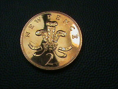 GREAT  BRITAIN    2 pence   1981   PROOF