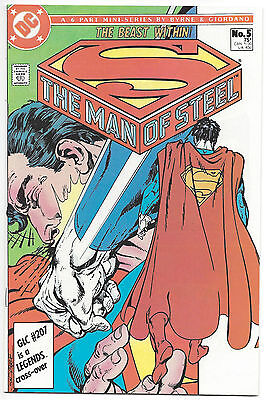 Superman the Man of Steel #5 The Beast Within DC Comics