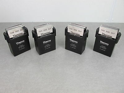 Thermo Scientific Four (4) Rotor Microplate Buckets & Clips 75015679 & 75015686