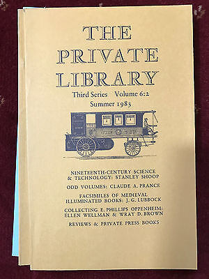 The Private Library 3rd Series Vol.6:2 1983
