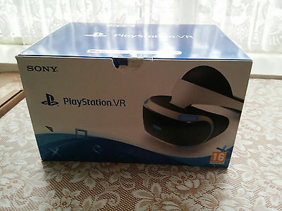 PS4 Playstation VR PSVR Headset Brand New Sealed Box CASH ON COLLECTION ONLY