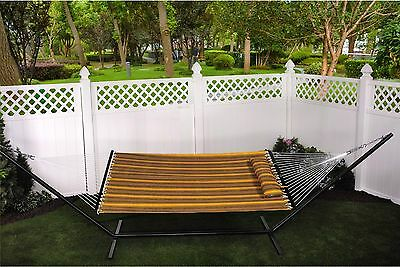 Hammock With Spreader Bars Oversized with Pillow Double Layer (BH-361)