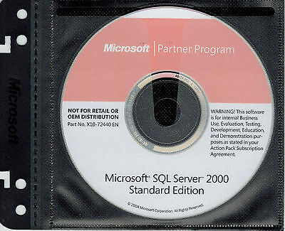 Microsoft SQL Server 2000 Standard Edition