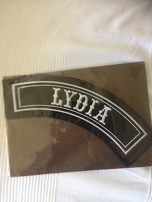 'Lydia' Motorcycle Patch