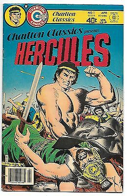 Charlton Classics #1 (1980) vf 8.0 Hercules plus Orion by Don Newton