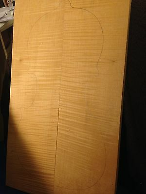 Violin Tonewood Maple