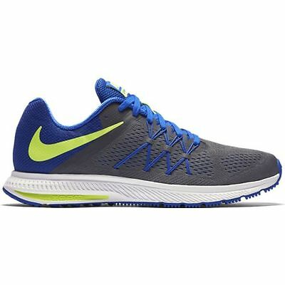 c16ccf7421241 NIKE ZOOM WINFLO 3 Dark Grey Volt Men s Training Running Shoes Size ...