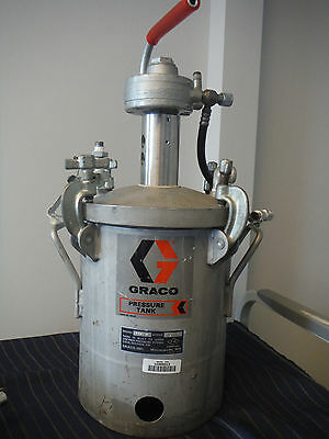 Graco Pressurized Mixing Tank 2 Gallon Paint Tank