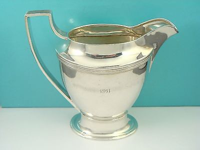 Antique Tiffany & Co Makers 925 Sterling Silver Cream Pitcher Creamer 2 Gills