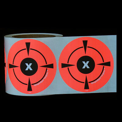 "250 Mega Pack 4"" Target Sticker Roll - Self - Adhesive ""SimpleSpot Targets"""