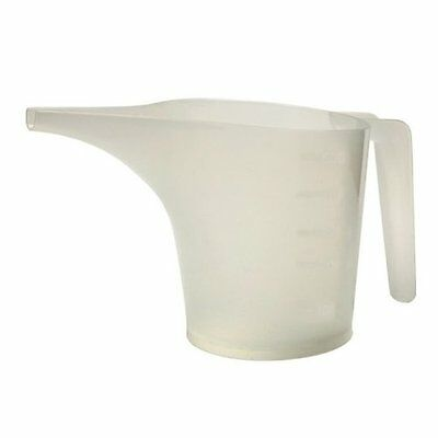 Norpro 3038 2 Cup Measuring Funnel Pitcher, White