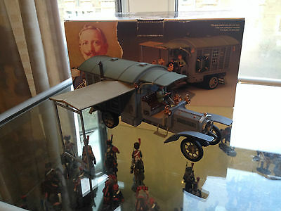 King And Country Ww1 Kaiser Bill's Staffwagen..with Driver Figure Only Fw92